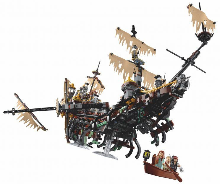 Lego Pirates of the Caribbean - Silent Mary