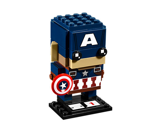 41589 Captain America Lego BrickHeadz Figure