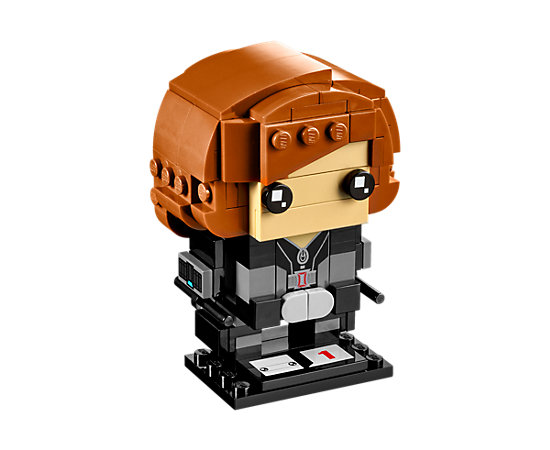 41591 Black Widow Lego BrickHeadz Figure