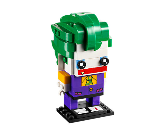 The Joker Lego BrickHeadz Figure