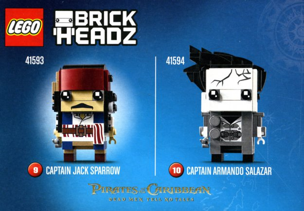 Lego BrickHeadz Officially Released